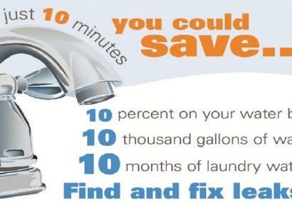 Save Money – Fix Leaks!
