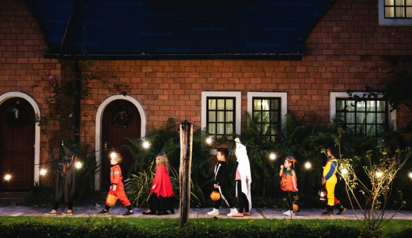 How to Make Your Property Safe for Trick-or-Treaters